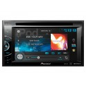 Pioneer AVH-X1500DVD Double DIN Multimedia DVD Receiver with 6.1 inch touchscreen Display, iPod control, Pandora support, and MIXTRAX