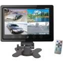 Pyle PLHRQD7B 7'' Quad TFT/LCD Video Monitor with Headrest Shroud