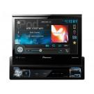 "Pioneer AVH-P7500BT 7"" Single-DIN In-Dash DVD Multimedia A/V Receiver with AppRadio, Mixtrax, Built-in Bluetooth® & Pandora®"