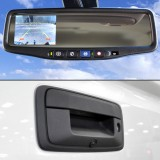 Quality Mobile Video 2014 Chevy Silverado / Sierra OEM Rear View Back Up Camera system - System installed